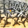 Chân Bàn Cafe Gang Đúc Coffee Bean 3 Chân Ngoài Trời - Nhà Hàng Trà Sữa ở Hà Nội C3008 - Hình 7