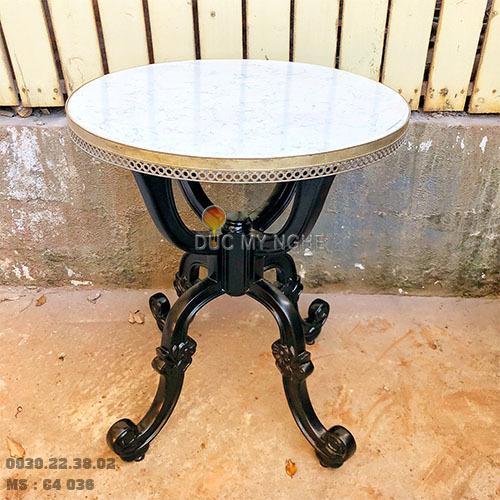 Chân bàn nhà hàng khách sạn 4 chân cổ điển nhôm đúc C4036