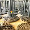 Chân Bàn Nhà Hàng Sắt Ống Đế Tròn 650mm Gang Đúc CT010C - Hình 6