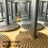 Chân Bàn Nhà Hàng Sắt Ống Đế Tròn 650mm Gang Đúc CT010C - Hình 9