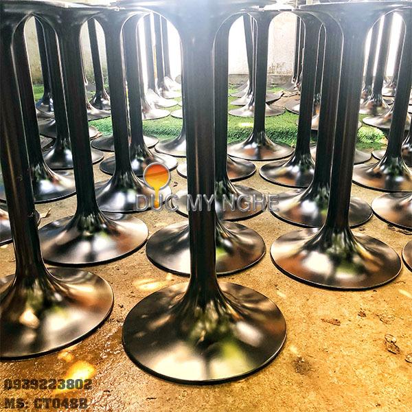 Chân Bàn Tròn Cà Phê Tulip Gang Đúc - Nhà Hàng Khách Sạn CT048B