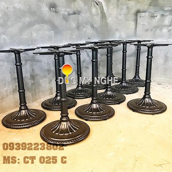 Chân Bàn Tròn Cafe Gang Đúc - Nhà Hàng Khách Sạn Resort CT025C