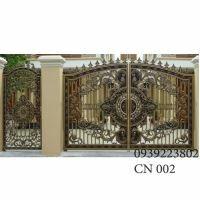 Cửa cổng Nhôm đúc CN002