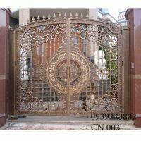 Cửa cổng Nhôm đúc CN003