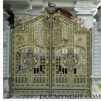 Cửa cổng Nhôm đúc CN004