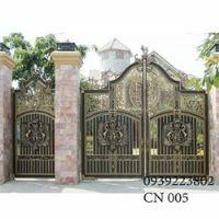 Cửa cổng Nhôm đúc CN005