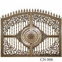 Cửa cổng Nhôm đúc CN006