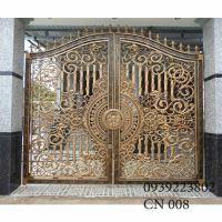 Cửa cổng Nhôm đúc CN008