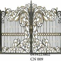 Cửa cổng Nhôm đúc CN009