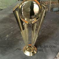 Cúp đúc đồng đánh bóng sáng như vàng 18k trao giải doanh nghiệp CD009