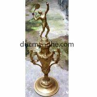 Cúp đúc đồng trao vận động viên tennis CD001