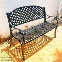 Ghế Băng Dài Công Viên Nhôm Đúc Ngoài Trời Sân Vườn Đẹp Nhất Tphcm GD008
