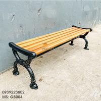 Ghế Băng Dài Gang Đúc Ko Lưng Tựa Còn Gọi Ghế Bench GB004
