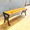 Ghế Bench Gang Đúc Dài Ngồi Chờ Không Lưng Tựa Ngoài Trời GB005 - Hình 1