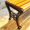 Ghế Bench Gang Đúc Dài Ngồi Chờ Không Lưng Tựa Ngoài Trời GB005 - Hình 3