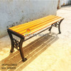 Ghế Bench Gang Đúc Dài Ngồi Chờ Không Lưng Tựa Ngoài Trời GB005 - Hình 8