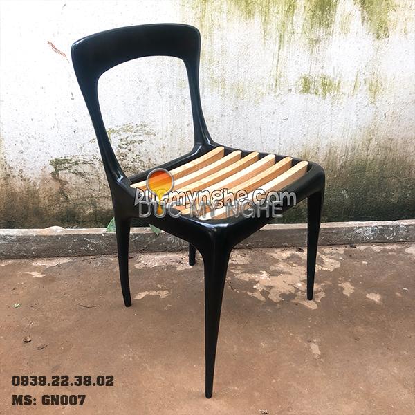 Ghế Cafe Hợp Kim Nhôm Đúc Ngoài Trời - Nhà Hàng GN007