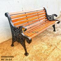 Ghế Công Viên Gang Đúc Gỗ Ngoài Trời Mẫu Mới Đẹp Nhất Ở Tphcm GD014