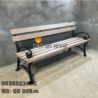 Ghế Công Viên Gang Đúc Gỗ Nhựa Ngoài Trời Sân Vườn Giá Rẻ Ở Tphcm GD009A