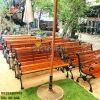 Ghế Công Viên Gang Đúc Thanh Ngồi Gỗ Căm Xe Ngoài Trời Sân Vườn Giá Rẻ Nhất Tphcm GD005 - Hình 12