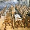 Ghế Băng Công Viên Nhôm Đúc Ngoài Trời Sân Vườn Đẹp Uy Tín Nhất Tphcm GD004 - Hình 12