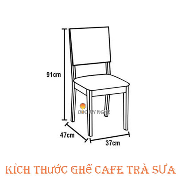 Kích Thước Chiều Cao Rộng Ngồi Ghế Cafe Ghế Ăn Nhà Hàng Ghế Bar Phù Hợp
