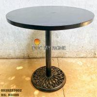 Mặt Bàn Sắt Cafe Sơn Tĩnh Điện Chống Trầy Ngoài Trời MB005