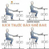 Quy Cách Chọn Kích Thước Bàn Ghế Bar Beer Club Chiều Cao Chuẩn Nhất