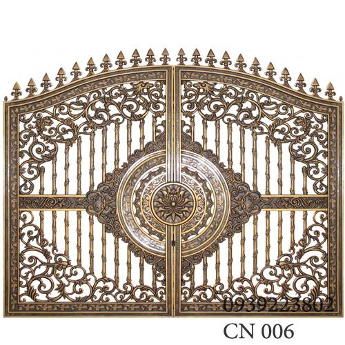 Cửa cổng nhôm đúc được yêu thích nhất vì sao?